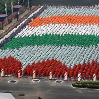 15. August - Tag der Unabhängigkeit Indiens.
