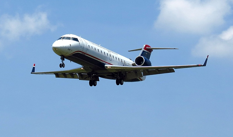 Zoom Air wird mit einer Bombardier CRJ200 fliegen.