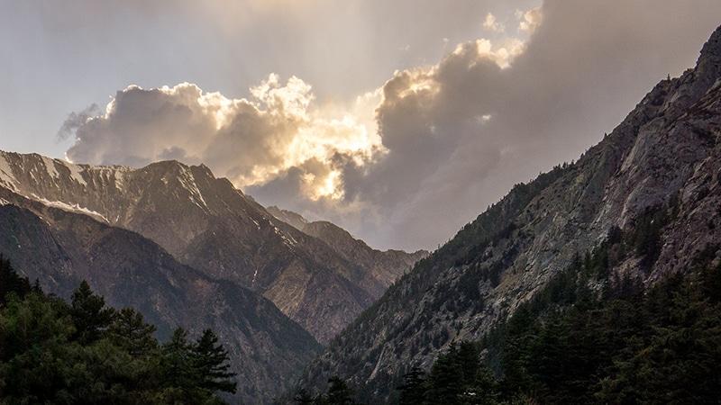 Gangotri - Landschaft