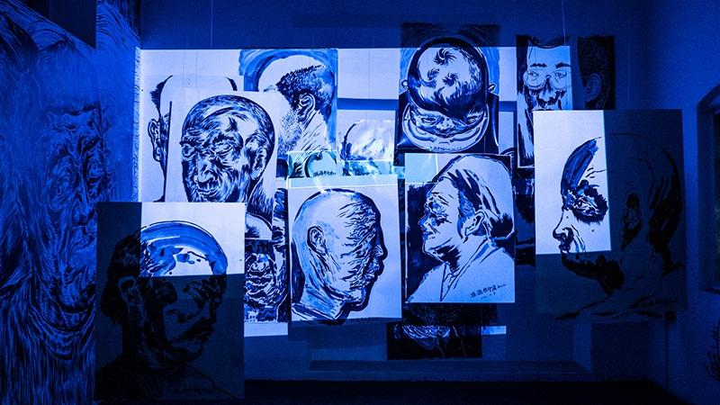 Exponat einer der früheren Kochi-Muziris Biennalen. Foto: Shruti Mathews
