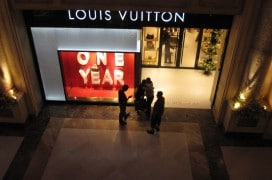 Louis Vuitton in Bangalore. Foto: xeeliz