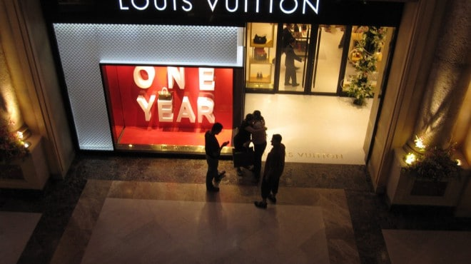 Louis Vuitton in Bangalore. Foto: xeeliz