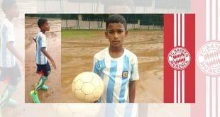 Fußballtalent Chandan Nayak aus Bhubaneswar