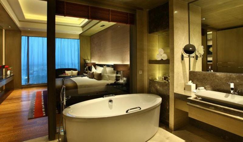 Zimmer im Crowne Plaza, Neu-Delhi. © Foto: Crowne Plaza