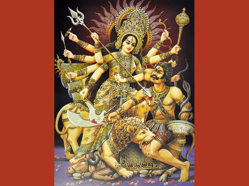 Durga, die Kriegsgöttin