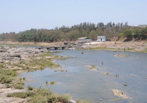 Damanganga Fluss in Silvassa, Dadra & Nagar Haveli, Foto: Sharada Prasad CS