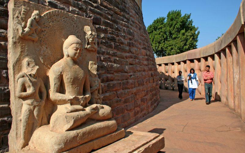 Stupa Sanchi, Foto Madhya Pradesh Tourism