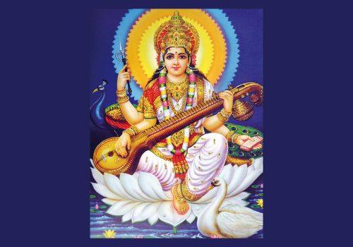 Göttin: Saraswati