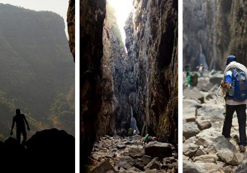 Auf dem Weg durchs Sandhan Valley. Foto: letscampout