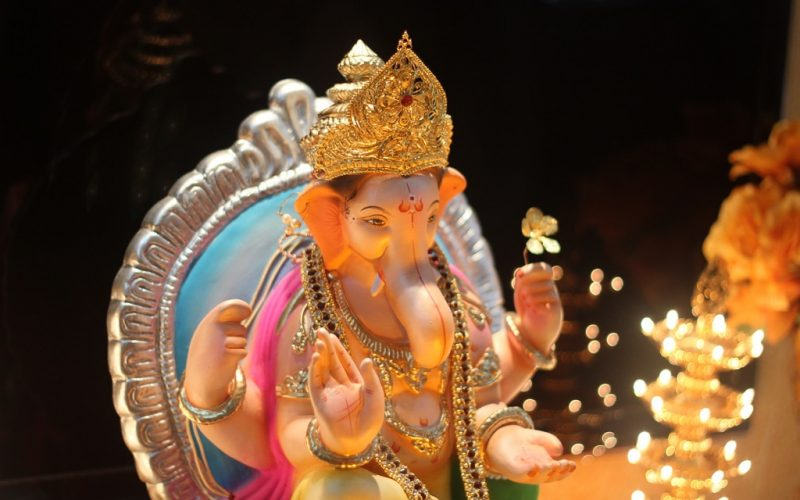 Ganesha at Ganesh Chaturthi celebrationsccl_Preshit-Deorukhar_Ganesh