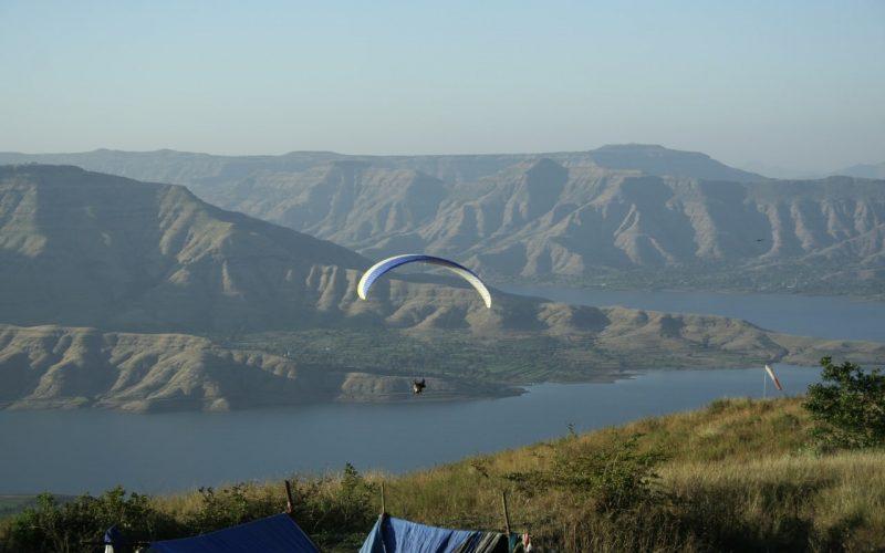 Paragliding bei Panchgani. Foto: Avinash Anand