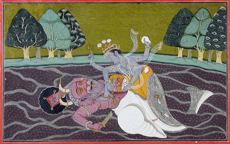 Matsya, die Fischinkarnation von Vishnu. Edwin Binney 3rd Collection. The San Diego Museum of Art