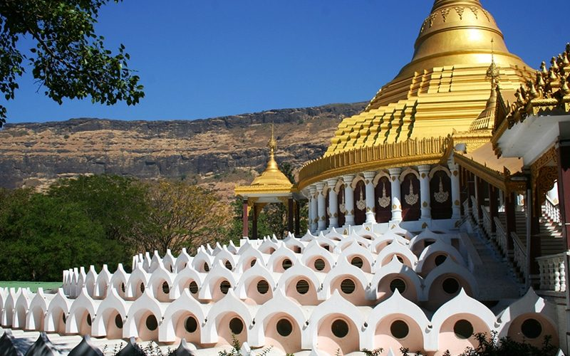 Dhamma Giri, Vipassana Centre. Foto: Jeremy Weate