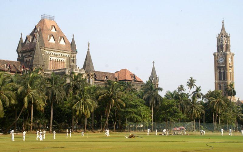 UNESCO Weltkulturerbe in Mumbai - viktorianisch-neugotische und Art-Deco-Gebäude am Oval Maidan