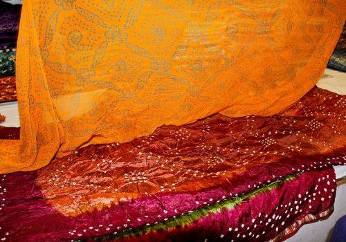Stoffe in den schönsten Farben. Foto: Piyush Kumar