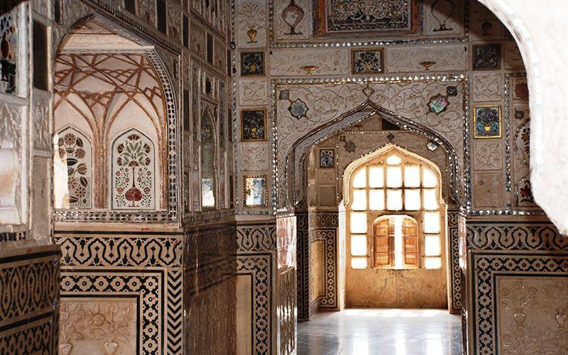 Jal Mandir im Amber Fort. Foto: S.N. Johnson-Roehr