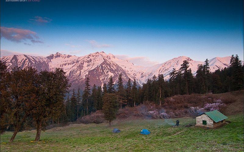 Zeltplatz im Great Himalayan Nationa Park. Foto: Sandeep Somasekharan