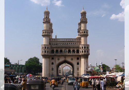 Charminar, das Wahrzeichen von Hyderabad. Foto: Soham Banerjee