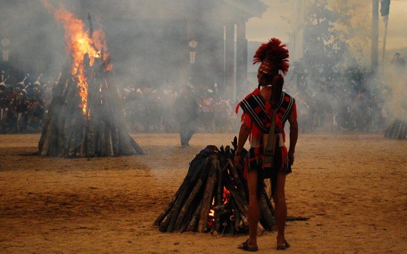 Das Hornbill Festival ist in der Tat spektakulär. Foto: Supriya Sehgal