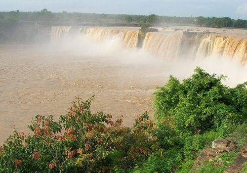 Chitrakoot-Fälle (Chhattisgarh). Foto: lamg