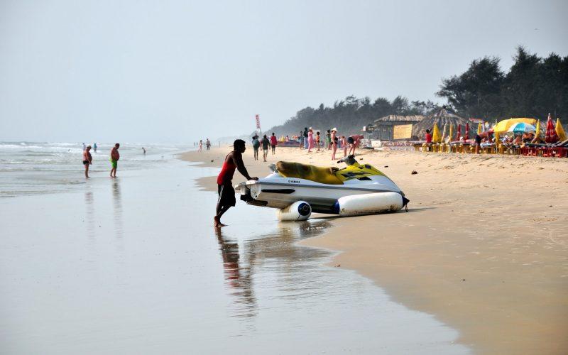 Goa ist nicht nur wegen seiner Strände beliebt - aber sie sind schon eine wichtige Attraktion dieses kleinen indischen Bundesstaates. Foto: Alexander Hartmann