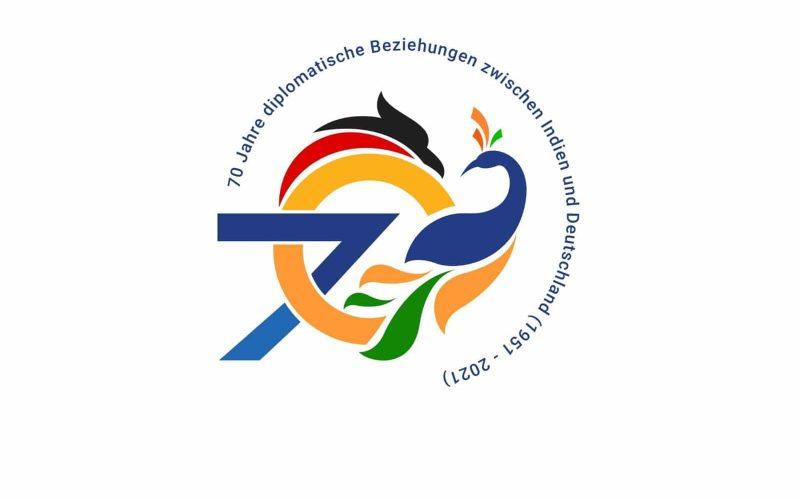 Logo für den 70.Jahrestag der diplomatischen Beziehungen