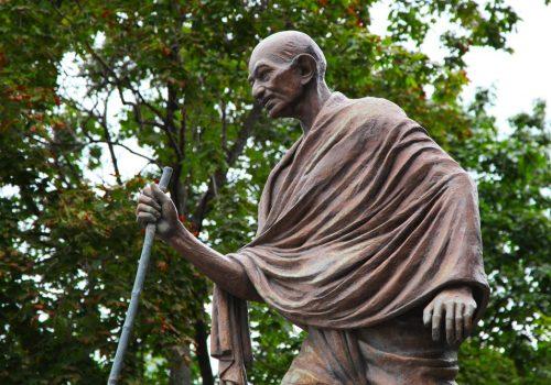 Mahatma Gandhi, der Vater der Nation