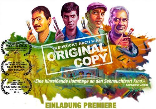 """Original Copy – Verrückt nach Kino"""