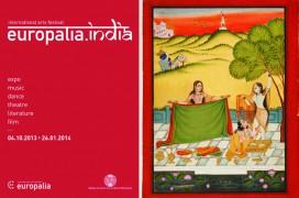 Festival europalia.india - Plakat und eines der Exponate. © europalia