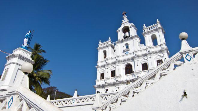 Kirche in Panjim, Goa