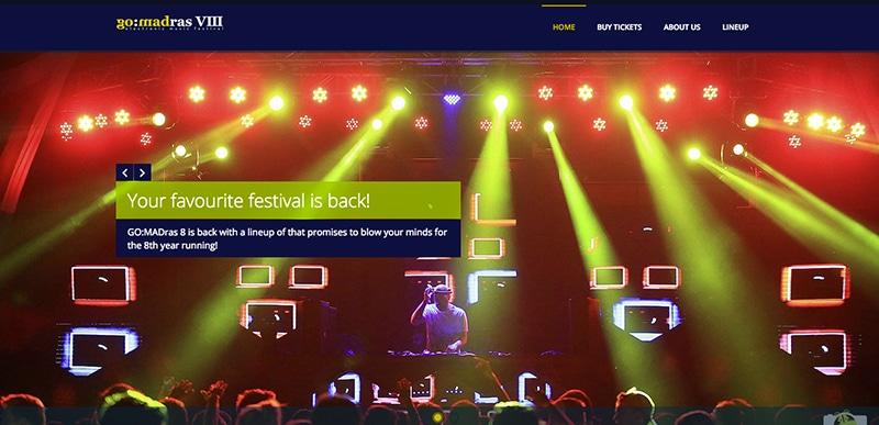Fetzt! - GO:MADras Musikfestival (screenshot der Webseite)