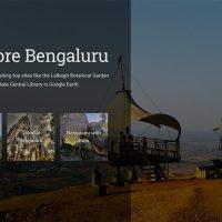 Bangalore Bildschirmfoto Google Earth