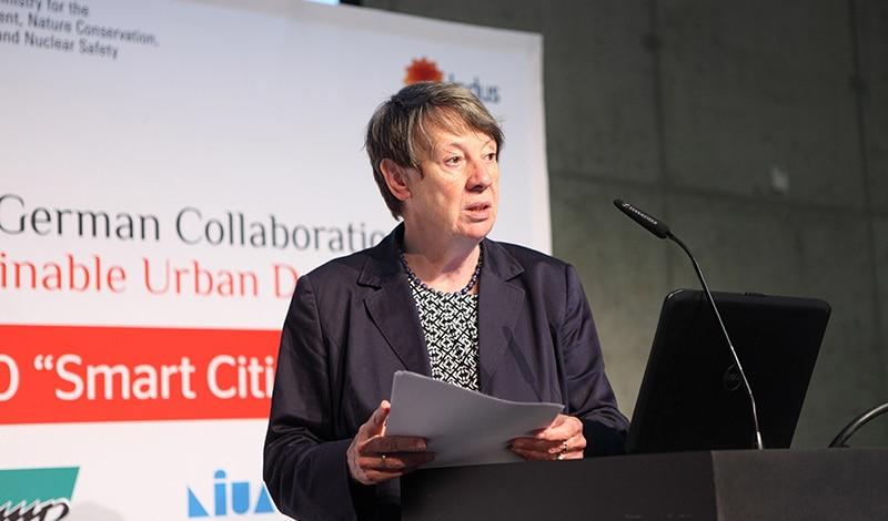 Dr. Barbara Hendricks, Bundesministerin für Umwelt, Naturschutz, Bau und Reaktorsicherheit. Foto: Sera Cakal