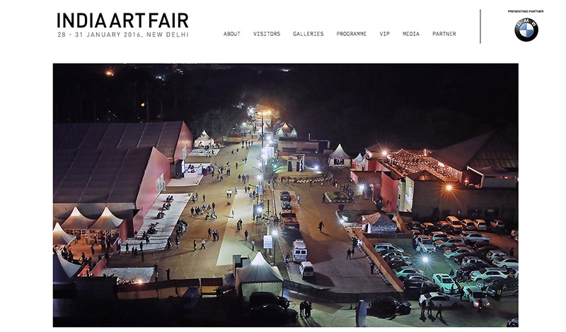 India Art Fair (Website)
