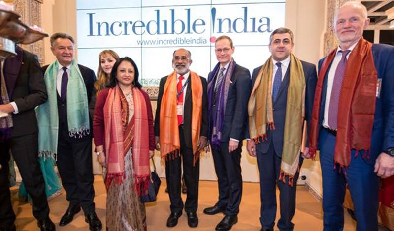 Indischer Tourismusminister auf der ITB 2018