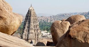 Hampi, die alte Hauptstadt des Königreiches Vijayanagar. Foto: © Gerhard Liebenberger