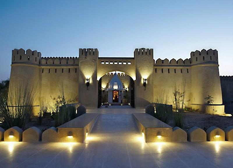 Mihir Garh Hotel in Rajasthan, der Welt bestes Boutique Hotel 2013. Foto: Mihir Garh Hotel