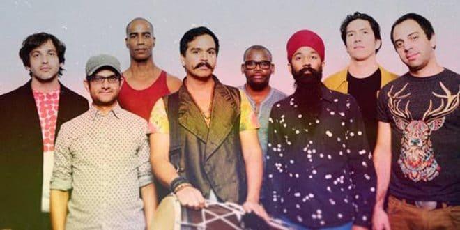 Die Musikgruppe Red Baraat