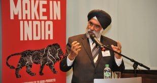Deutsch-indische Start-ups: Botschafter Gurjit Singh bei seiner Rede auf der Veranstaltung