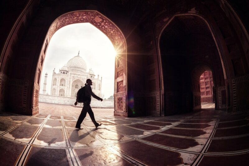 Ein Tagesausflug von Delhi nach Agra