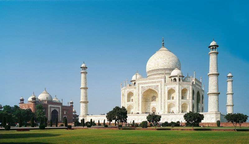 Taj Mahal, Foto: Indisches Fremdenverkehrsamt