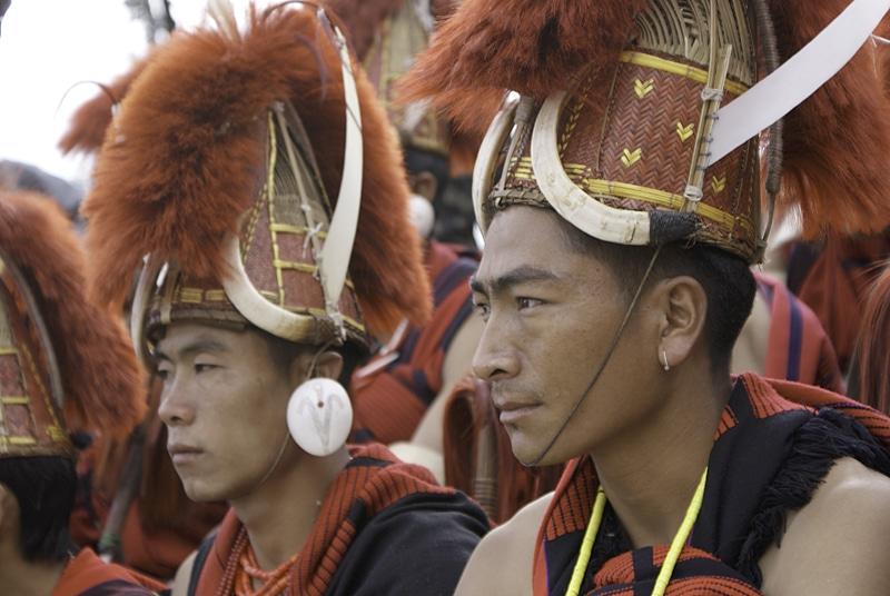 Hornbill Festival in Nagaland.© Foto: Tischler Reisen