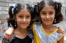 Eines der Zwillingspärchen aus Umri