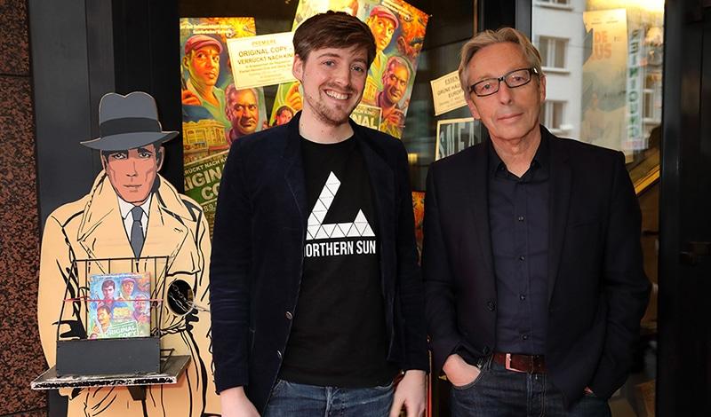 """Regisseure von """"Original Copy"""": Florian Heinzen-Ziob und Georg Heinzen"""